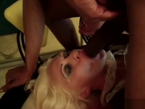 Granny gets anal from BBC Raylene hot milf