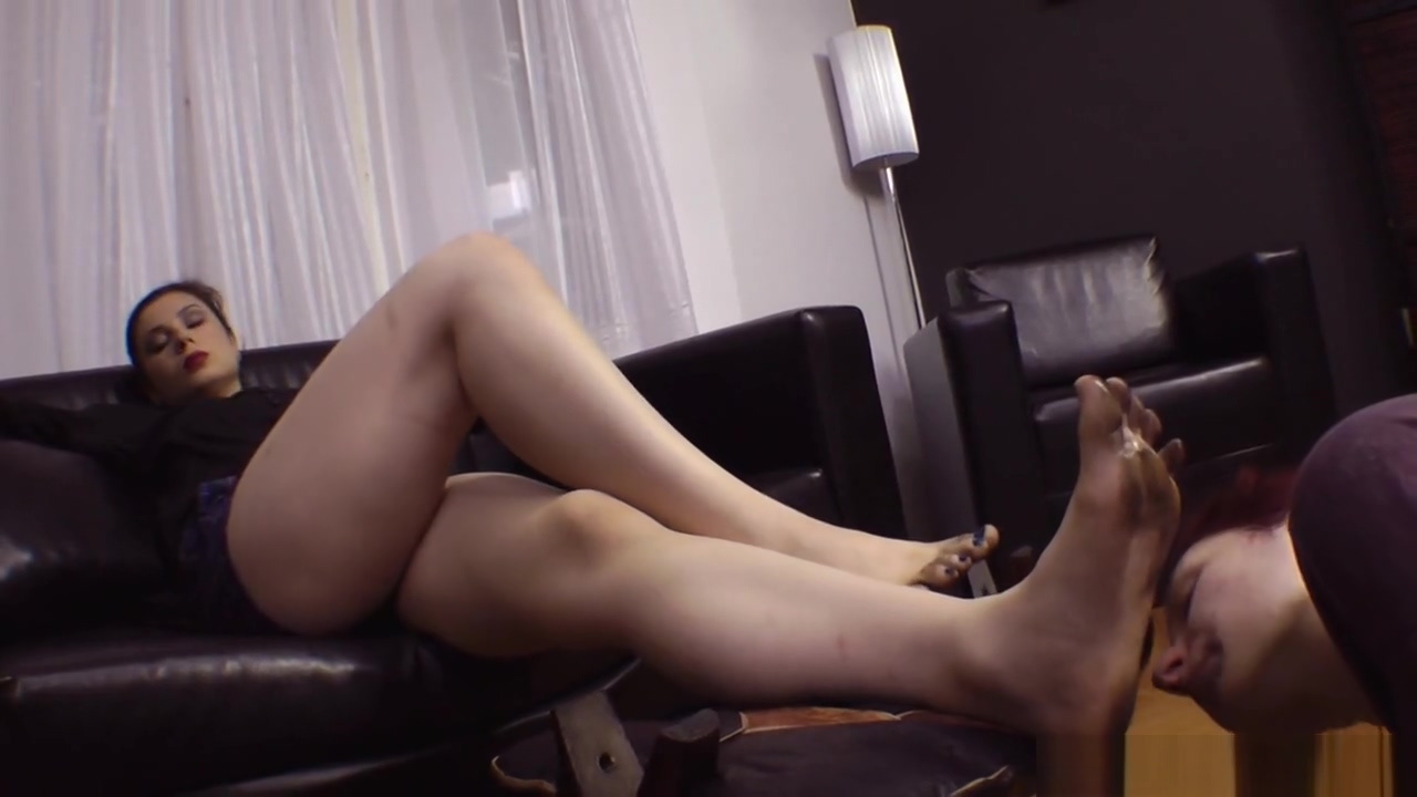 Lick Dirty Feet from Mistress
