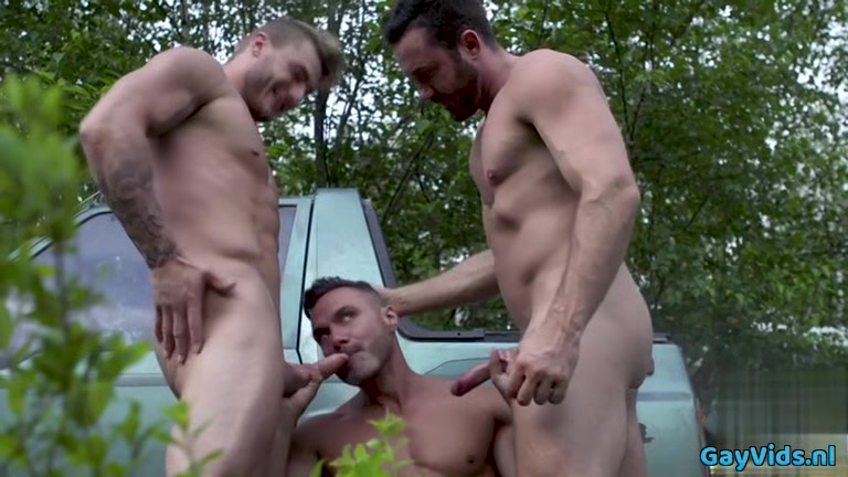 Muscle gay threesome and facial asian pornstar thai angel pussy sex
