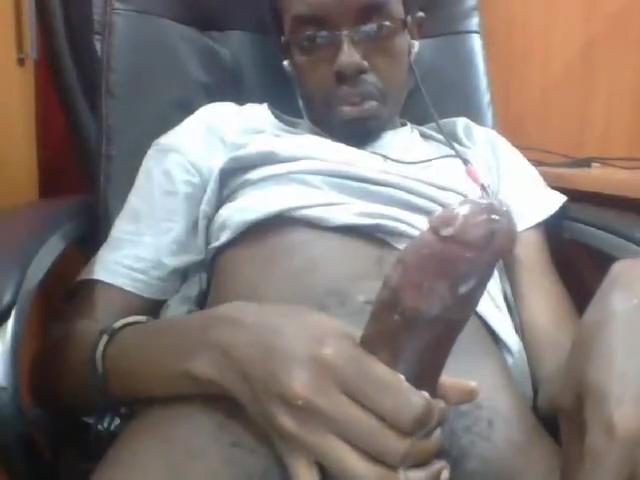 Hot African Twink Shoots his cummm hot girls no clothes