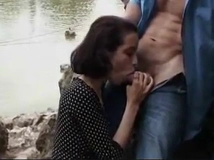 Exhib N15 Femdom making men eat cum