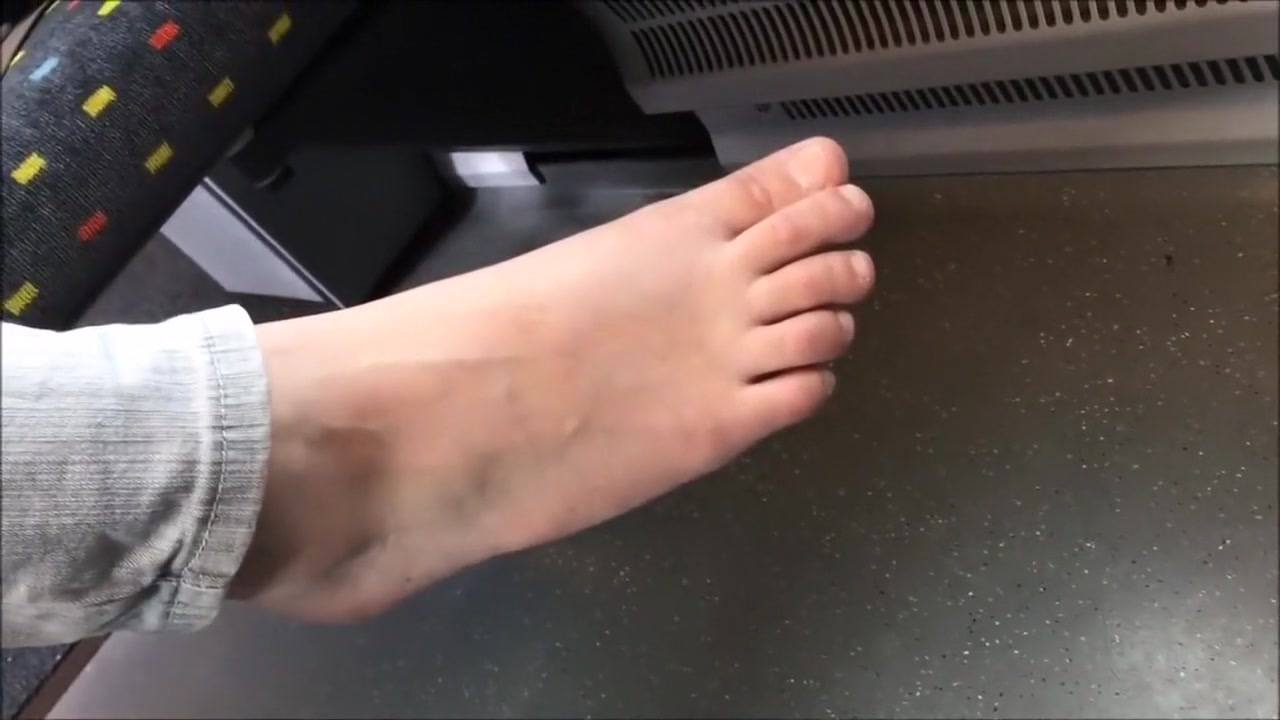 Candid barefoot on train 27 How to have sex with a prostitute
