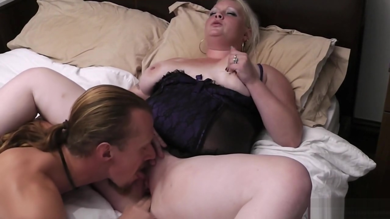 Blonde chubby gf enjoys his meat August ames natural boobs