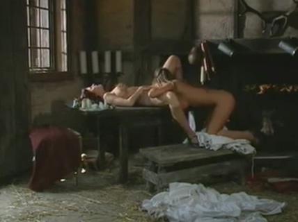 Medieval lesbian granny soles blowjob in th pose