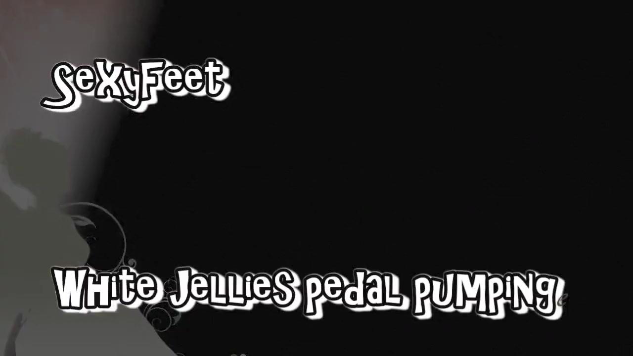 White Jellies pedal pumping free lebian strapon videos