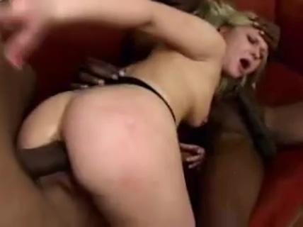 Aaralyn Barra Gets 3 Black Cocks Red head three some