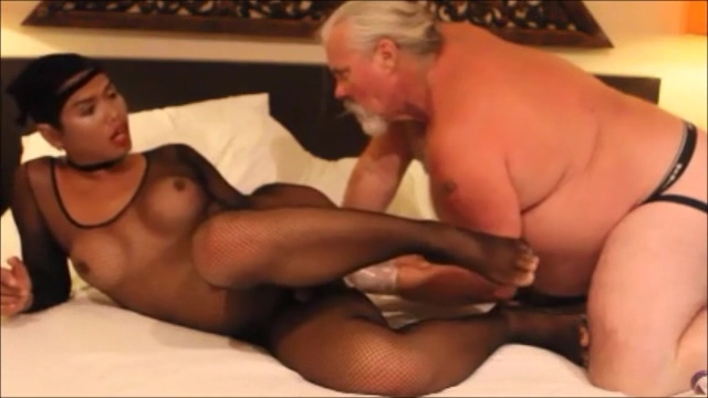 The astonishing Ladyboy Pan Getting Fisted By A Real guy Strapon lezdom dykes in strapon fuck