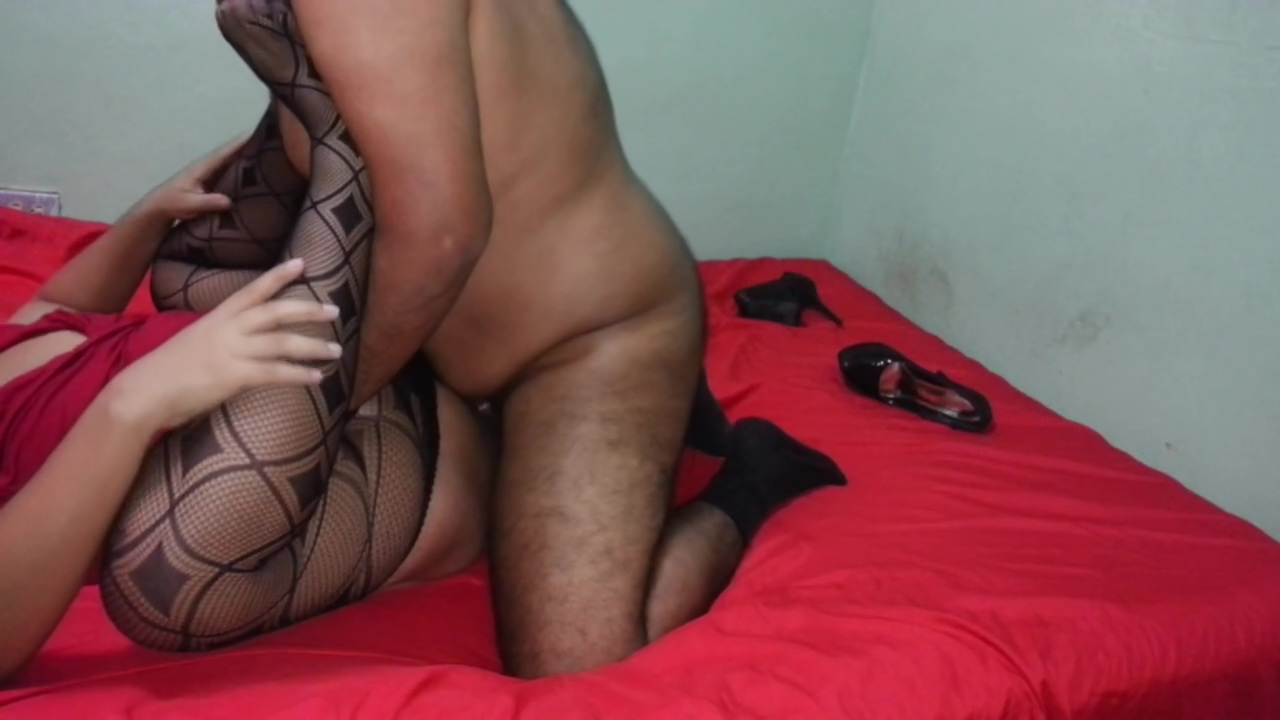 fat Crossdresser Getting pounded By hirsute guy V Femdom panties tube