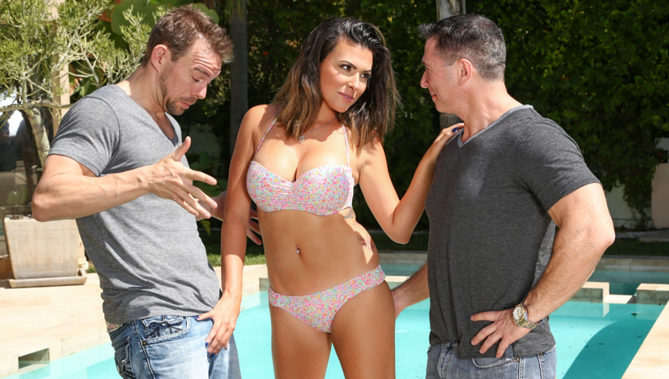 Danica Dillon, John Strong, Erik Everhard In DP My Wife With Me #06, Scene #03