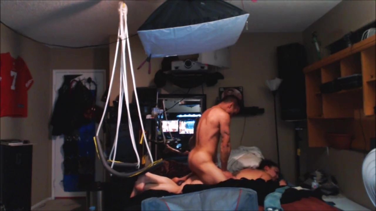 Fucking Neighbors Daughter on Sex Swing 1st Time Erotic puppy play hood