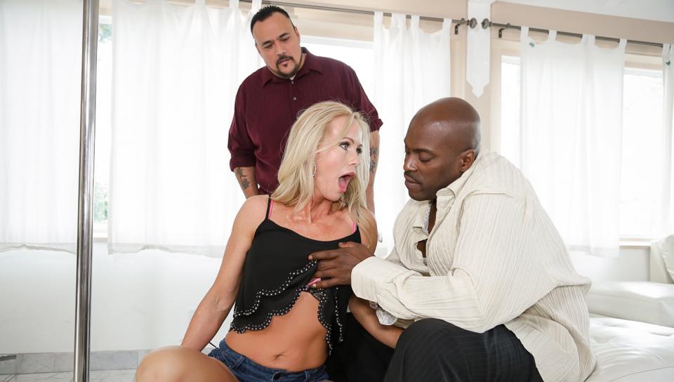 Simone Sonay, Lexington Steele in Moms Cuckold #14, Scene #04 husband and transexual wife