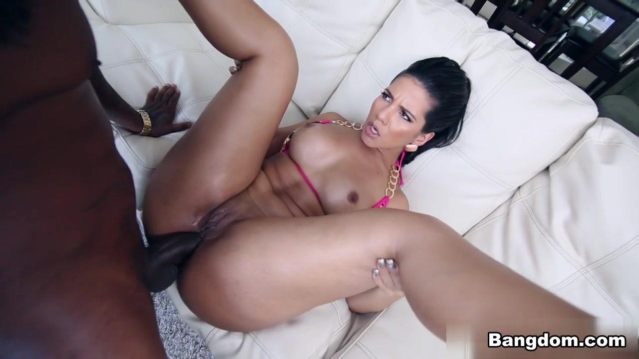 Big Black Dick Gripping Pussy