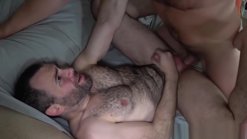 Hairy hunk cums while being barebacked c p company porn videos