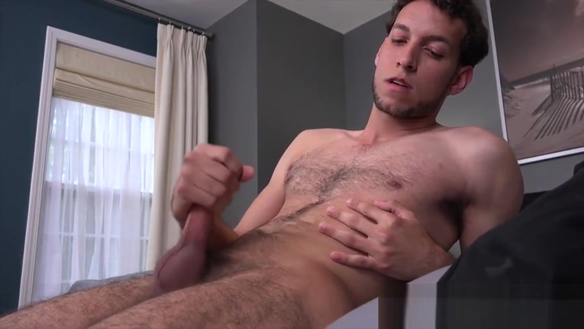 Handsome straight young man with a sexy hairy body gets paid to do a solo masturbation sessi Lht film bokep gadis amerika latin