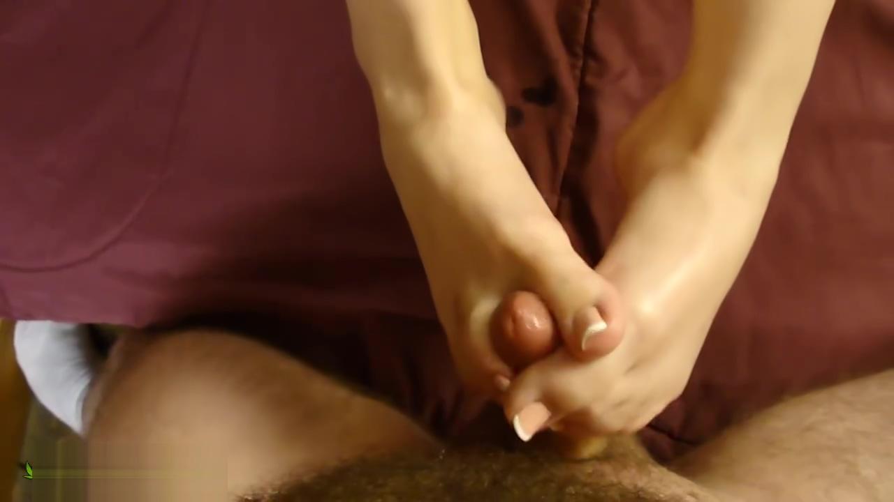 French Pedicure Footjob free older black woman porn