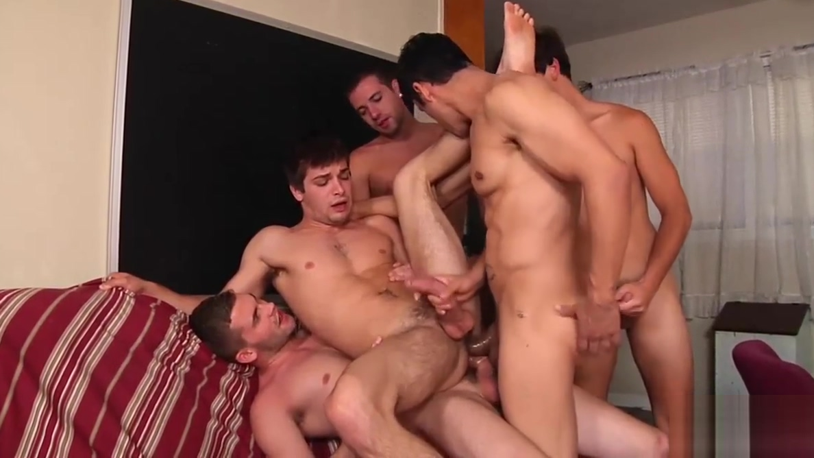 Hottie Rafael Alencar rewards four twinks with his big dick Milf wife lesbian ass licking