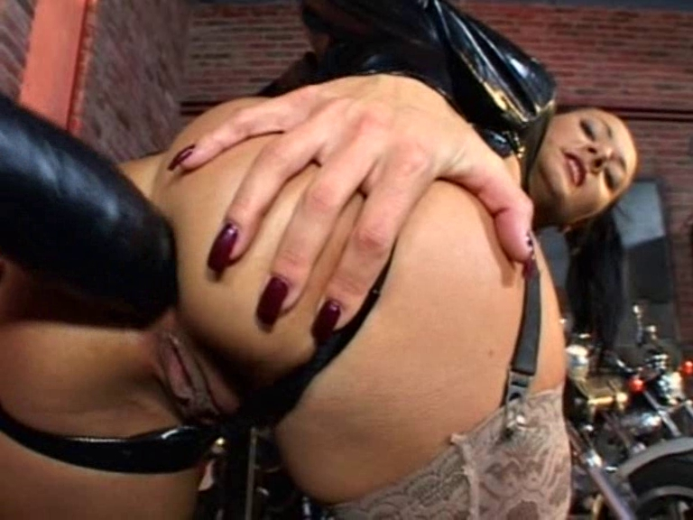Rectal Wanking - Latex Glove Teachers Gets to Dominate Her Student