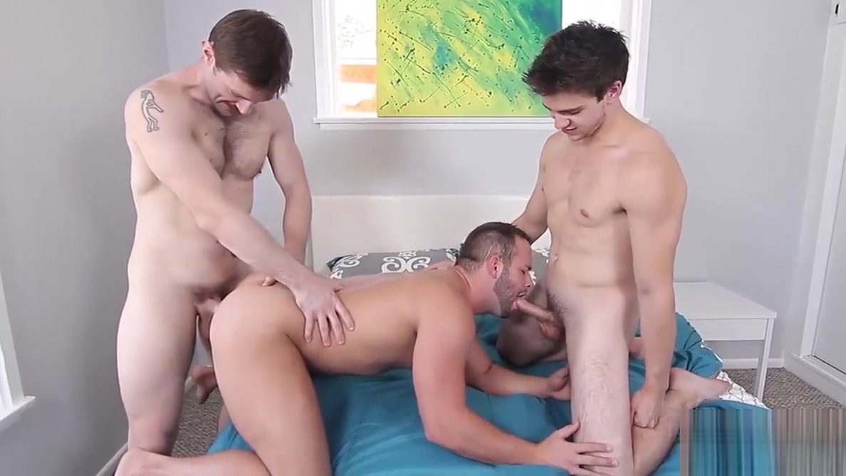 Dennis West Luke Adams and Will Braun enjoying hot anal sex Are penn and teller gay