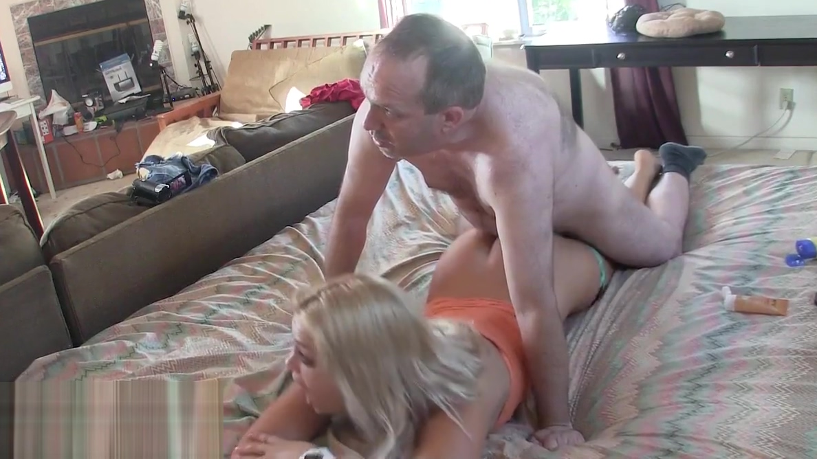 Hot Blonde Massaged and Creampied HD Boobs hot gif