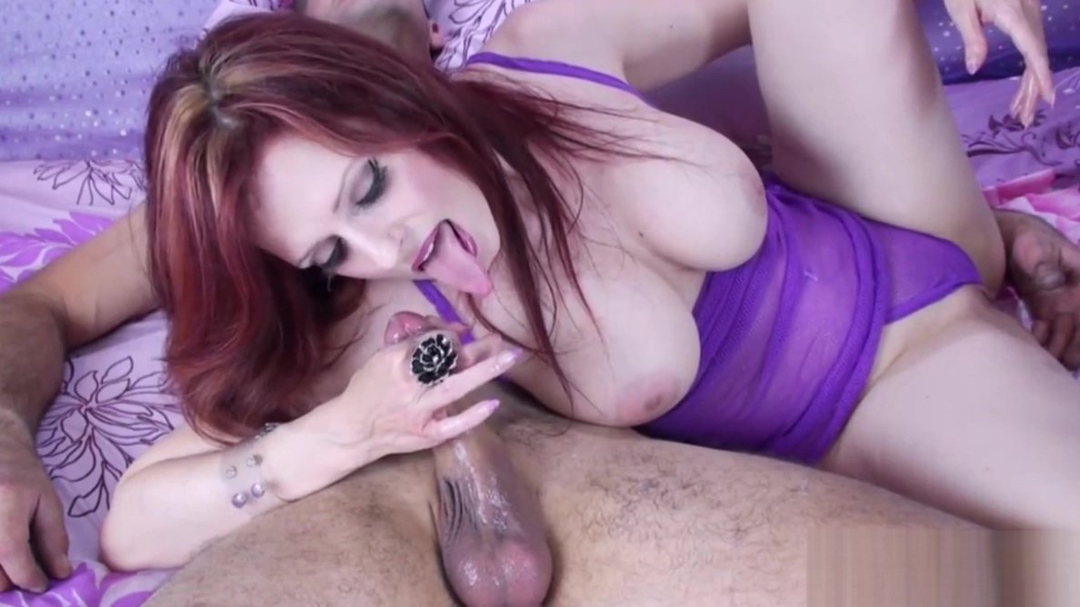 Sexy Milf Shanda Fay Gives Sloppy Blowjob! Pantyhose high heel sex