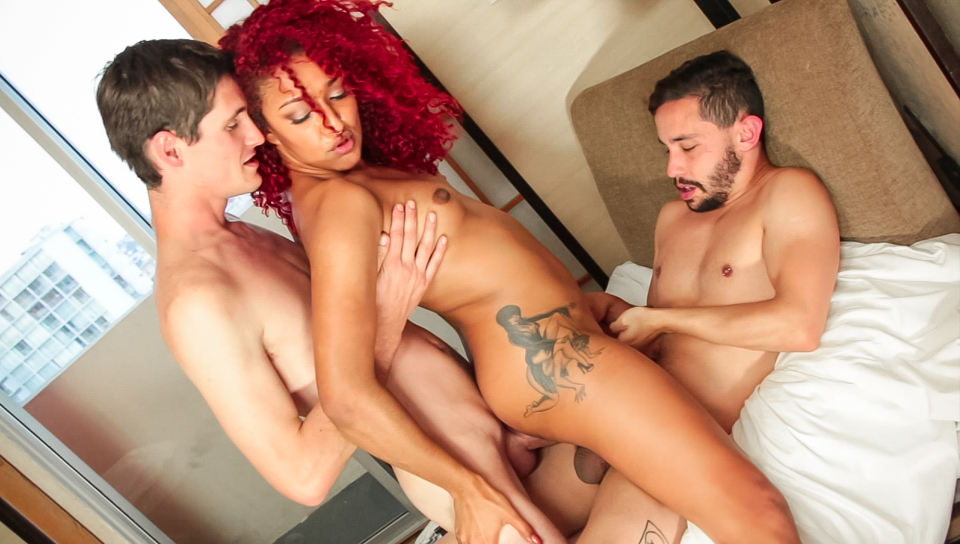 Daisy Ducati & Jasper Stone & Tony Orlando in Bisexual Pick-Ups Scene How to stop pain during sex