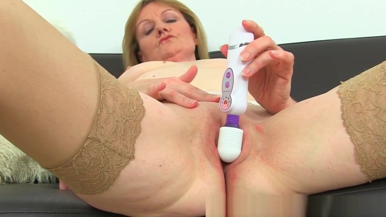 British milf Clare Cream strips off and enjoys her vibrator Naked black sluts