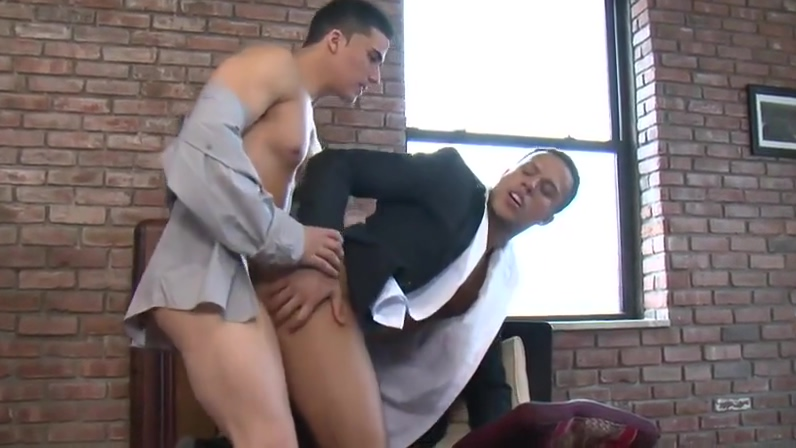 2 young Gentlemen fucks in suit Indian sex in tights