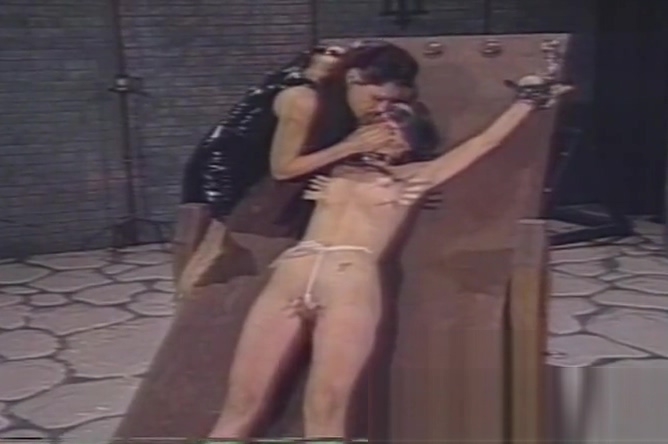 Pain makes this sexy skinny brunette slave girl really horny Stephanie Cane Filled With Huge Black Boners