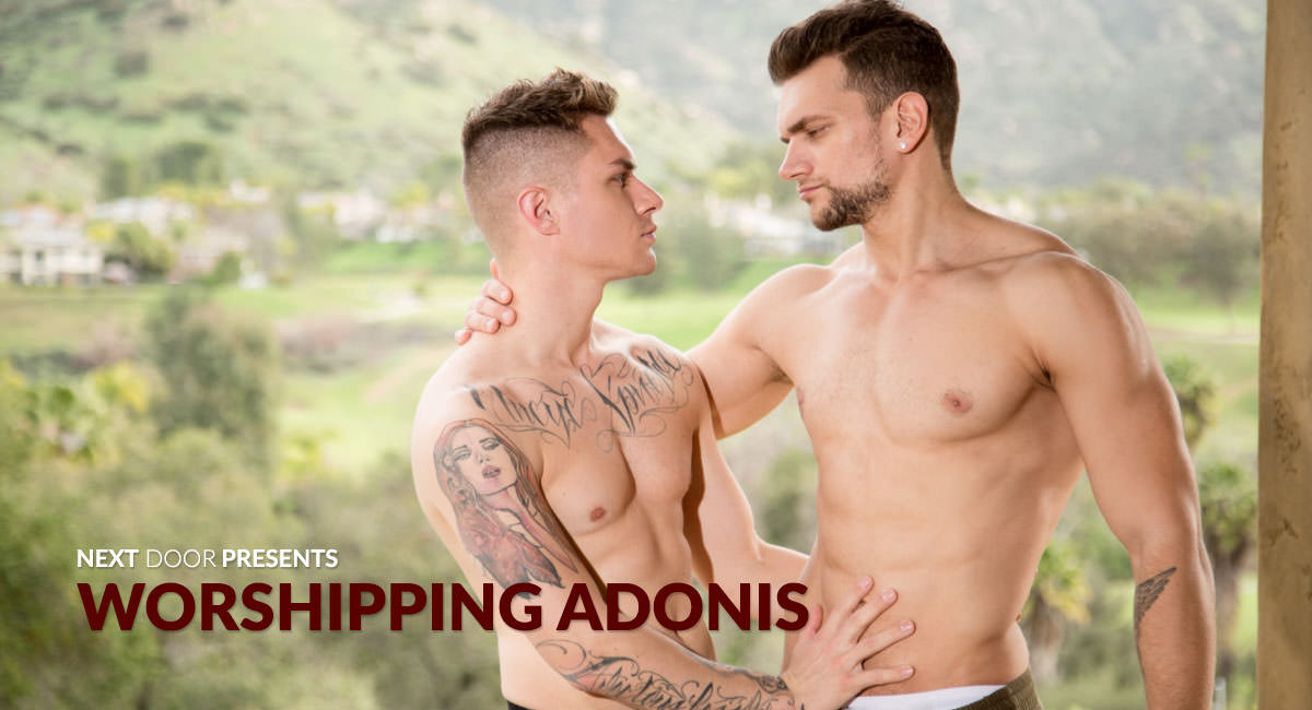 Zak Bishop & Adonis Cole in Worshipping Adonis - NextdoorWorld Dixie lynn dwyer