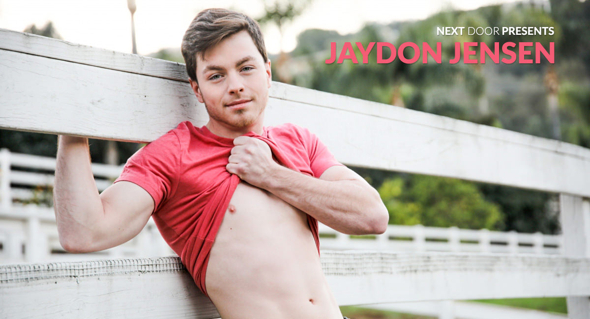 Jaydon Jensen in Jaydon Jensen - NextdoorWorld Small tits shaved lick cock and pissing