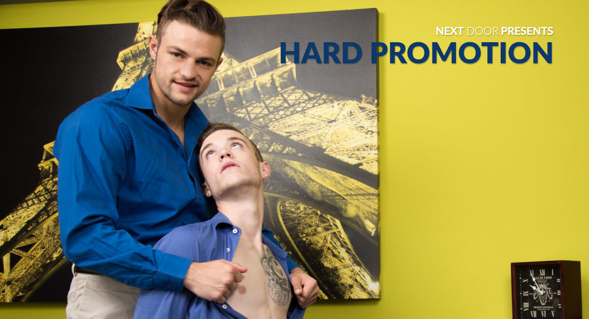 Scott Finn & Charlie Pattinson in Hard Promotion - NextdoorWorld dont tell mommy porn videos