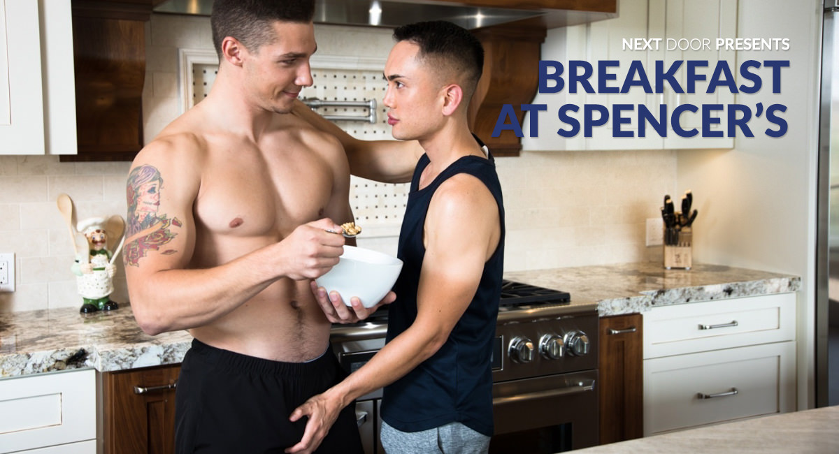 Spencer Laval & Marcus Tresor in Breakfast At Spencers - NextdoorWorld grandpa a girls seks pictures