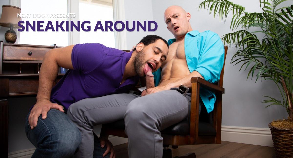 Trevor Laster & David Rose in Sneaking Around - NextdoorWorld Lesbian xx free