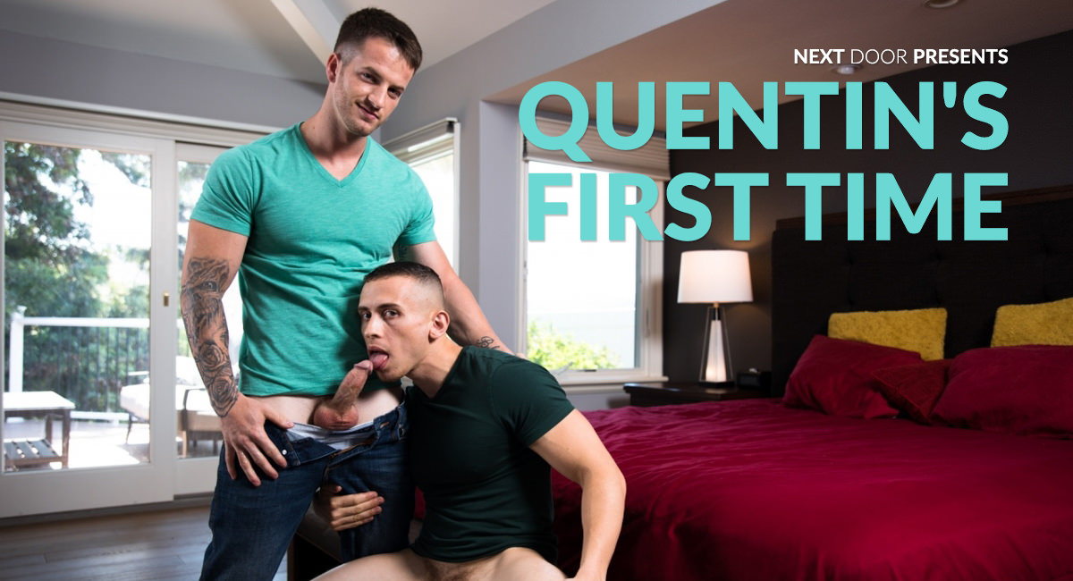 Dante Martin & Quentin Gainz in Quentins First Time - NextdoorWorld women masturbating u tube