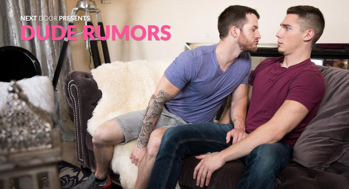 Quentin Gainz & Spencer Laval in Dude Rumors - NextdoorWorld Xxx college xxx