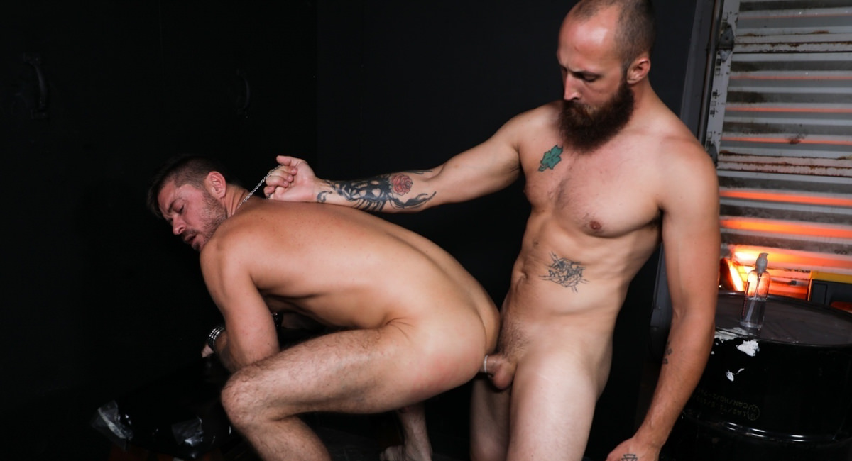 Dustin Steele & Jack Andy in MC Initiation - PrideStudios Www ebony hardcore com