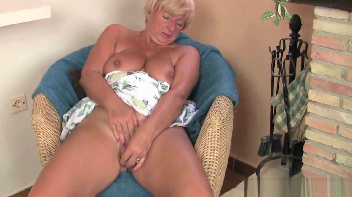 Granny caught masterbating full porn