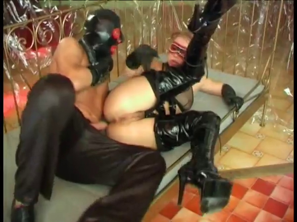 Happiness is warm latex and boots Fucking hot arab