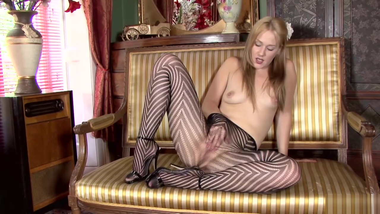 Pantyhosed4u Aston Wilde - A Pantyhose Stripe Tease Pictures of hairy pussy african women