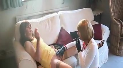 Two Smoking Trannies Teen puppy