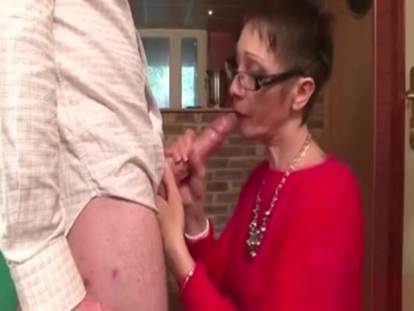 Iam Pierced Granny with tattoos and piercings sucking and