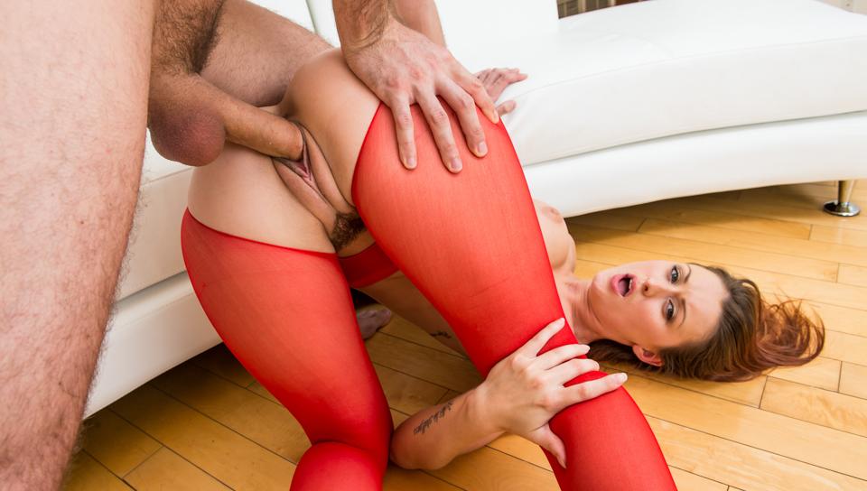 Karlie Montana,James Deen in Slutty And Sluttier #22, Scene #04 Sorority girls watching amateur suck cock