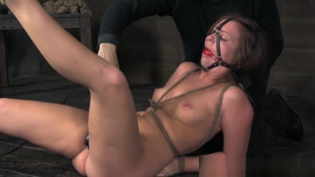 Mouth gagged bitch in humiliation treatment extend your penis size