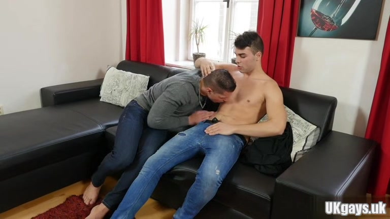 Muscle gay anal sex with cumshot Sex toys to use in bed