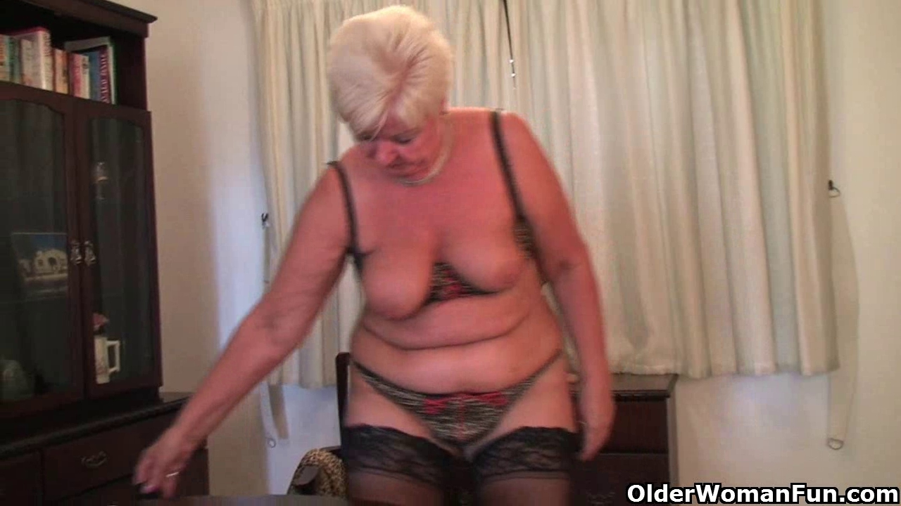 Fat granny in nylons plays with fake penis Torture my asshole and mouth