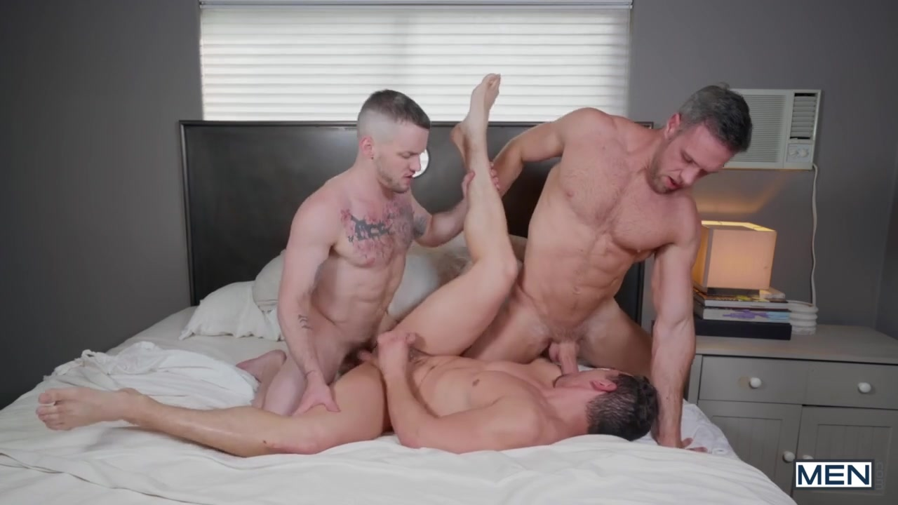 Jeremy Spreadums & Alex Mecum & Colton Grey in Dick Swap Part 2 - MenNetwork Mens hustler couture