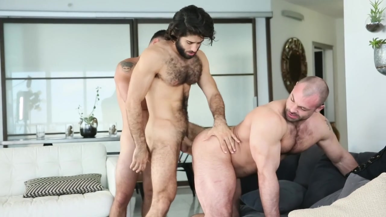 Vadim Black & Diego Sans in 2 Bottoms & 1 Top - MenNetwork free videos of girlfriends sex
