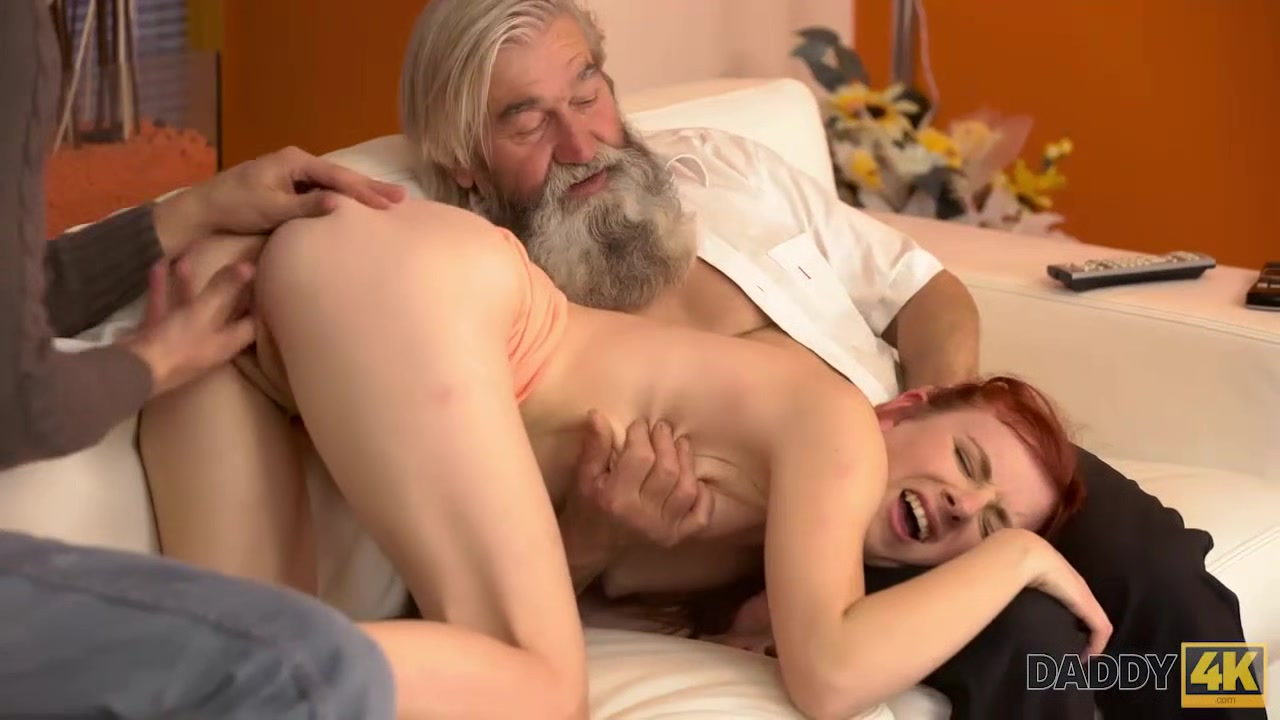 DADDY4K. Old gentleman really wants to try young vagina once again Great amateur asian milf tits again