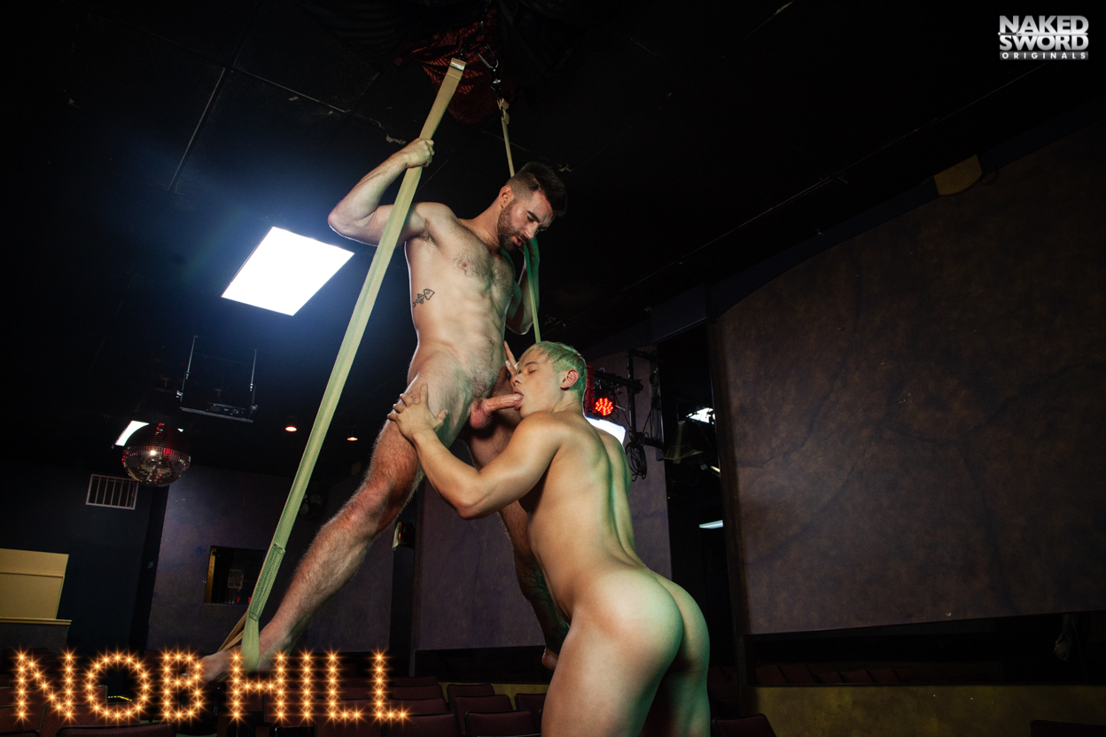 Nob Hill Episode 1: LOVE IS IN THE AIR - NakedSword Originals Asian gloryhole babe cocksucking and fucking