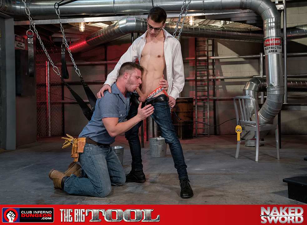 The Big Tool - Club Inferno, Hot House Wife and husband massage